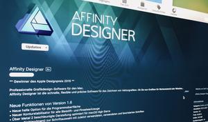 """Affinity Photo und Affinity Designer sind jetzt """"Metal-schnell"""""""