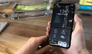 iFixit bringt Inneres des iPhone X als Wallpaper