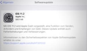 iPhones stürzen wegen Datumsfehler ab -  iOS 11.2 überraschend freigegeben