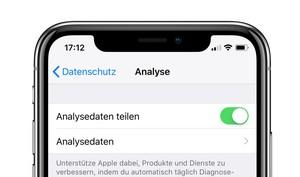 Auswertung von Nutzerdaten: Apple verspricht Sicherheit und Anonymität