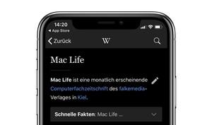 Nun auch Wikipedia: Immer mehr Apps mit dunklem Modus für iPhone X