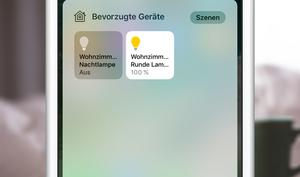 HomeKit: So werden nur bestimmte Geräte im Kontrollzentrum angezeigt