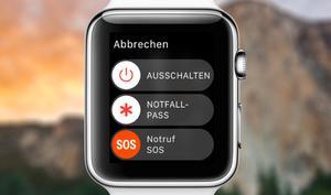 So richten Sie das Notfall SOS auf der Apple Watch ein
