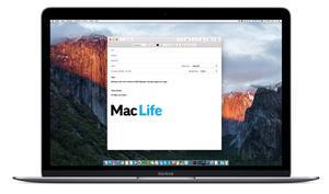 So erstellen Sie eine Signatur mit Bildelementen in Mail am Mac