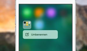 iOS 11: So nutzen Sie Quick Actions für Ordner