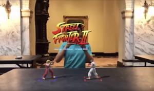 Street Fighter II in der Augmented Reality mit ARKit