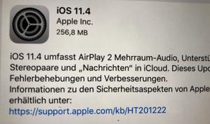 iOS 11.4 erblickt endlich das Licht der Welt