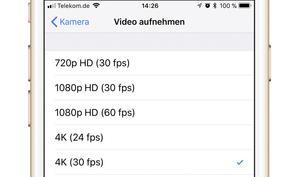 4K-Videos mit dem iPhone bearbeiten - so geht's