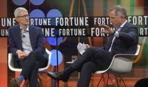 Zwischen Politik und Prinzipien: Tim Cook auf Management-Veranstaltung von Fortune