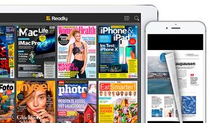 Readly: Zeitschriften-Flatrate testen und über 66% sparen