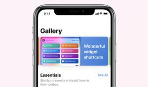 Apple veröffentlicht erste Beta zur Siri Shortcuts-App