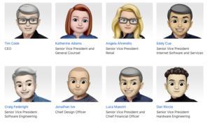 Apple-Führungsebene stellt sich am World-Emoji-Day neu auf