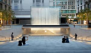 Apple Piazza Liberty eröffnet am Donnerstag in Mailand