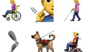 Emojis von Apple für Barrierefreiheit sollen in Unicode kommen