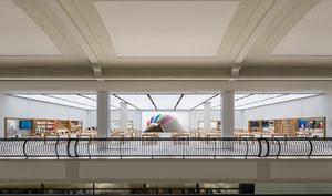 Mutige Kunden stellen Räuber im Apple Store in Kalifornien