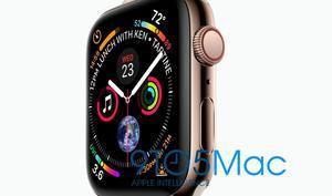 Große Apple Watch Series 4 mit besserer Bildschirmauflösung
