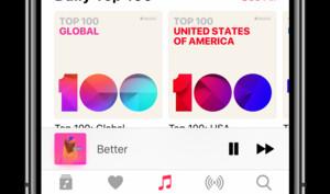 Die Top-Songs auf Apple Music: Apple mit eigenen Top 100 Charts
