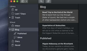 Ulysses mit echtem Dark Mode in Mojave und Shortcuts in iOS 12