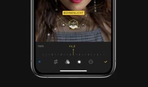 iPhone XS erhält Echtzeit-Tiefenkontrolle für Fotos in iOS 12.1