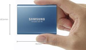 Speicher kompakt und günstig: Samsung Portable T5 SSD mit USB-C reduziert