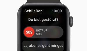 Apple Watch Series 4: So gut funktioniert die Sturzerkennung