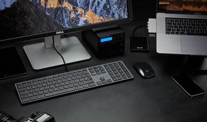 Das ist die wohl günstigste Alternative zur Apple-Tastatur in Space Grau