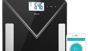 Körperfettwaage mit Support für Apples Health-App günstiger
