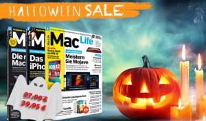 Gruselig günstig: Nur jetzt die Mac Life mit 55 Prozent Rabatt plus Goodies im Jahresabo