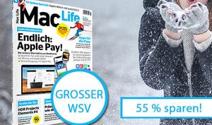 Nur kurze Zeit: Die Mac Life im Winterschlussverkauf – jetzt 55 Prozent sparen!