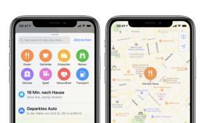 Trick 17: Adresse schneller suchen in Apple Karten