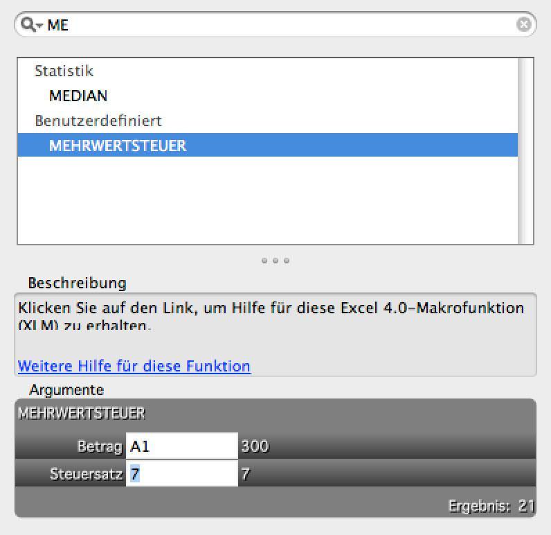 Excel: Eigene Excel-Funktion entwickeln | Mac Life