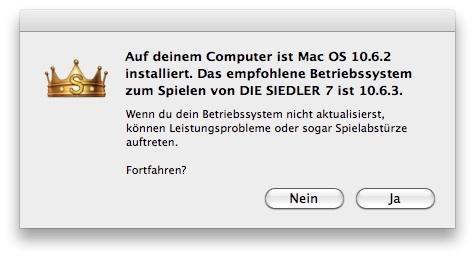 die siedler 7 update mac