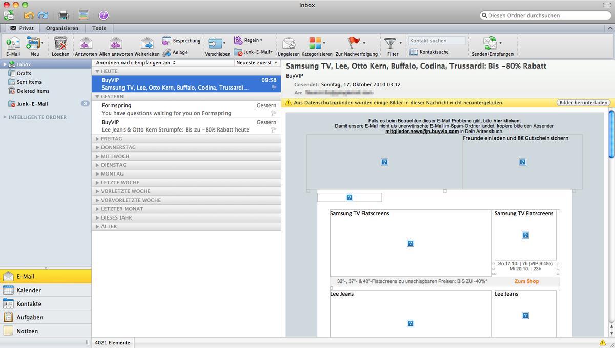Ausprobiert: Erste Erfahrungen mit Microsoft Office 2011 für Mac ...