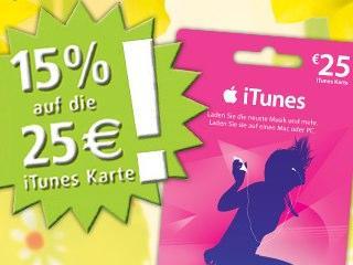 g nstige itunes karte rewe bietet 15 prozent rabatt auf 25 euro prepaid karte mac life. Black Bedroom Furniture Sets. Home Design Ideas