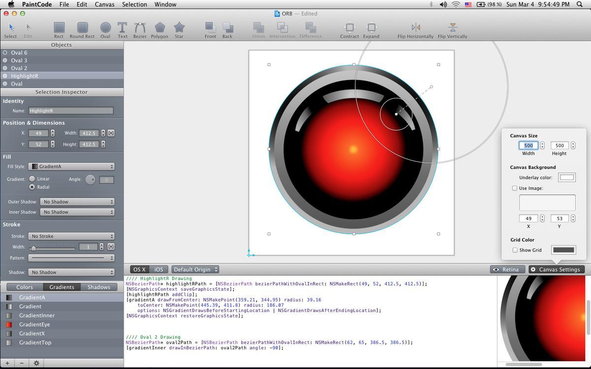 PaintCode: Auflösungsunabhängige Grafiken erstellen | Mac Life