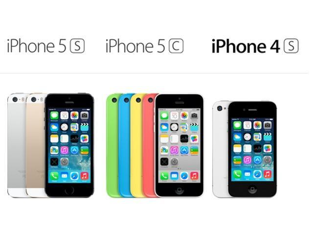 IPhone 5c 5S Und Das 4S Im Vergleich