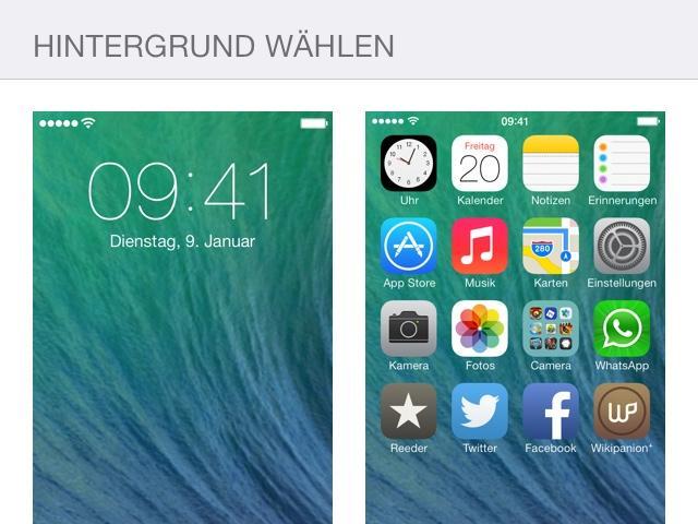 Hintergrund in bild einfugen app
