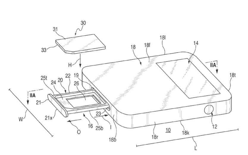 Apple-Patentantrag beschreibt neuartigen Slot für SIM