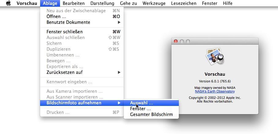Bildschirmfotos Mit Os X Bildschirmfoto App Sowie Vorschau Mac Life