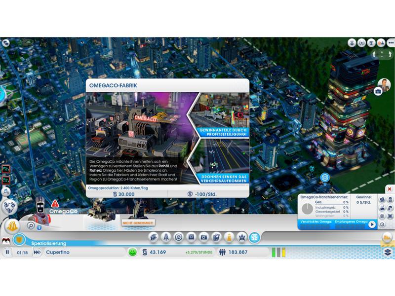 Spiele Kurztest Sim City Städte Der Zukunft Mac Life