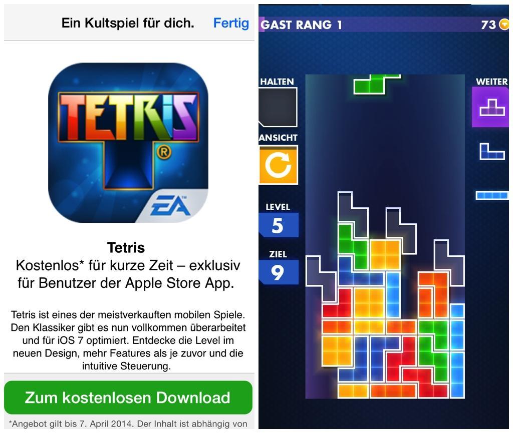 Tetris Kostenlos App