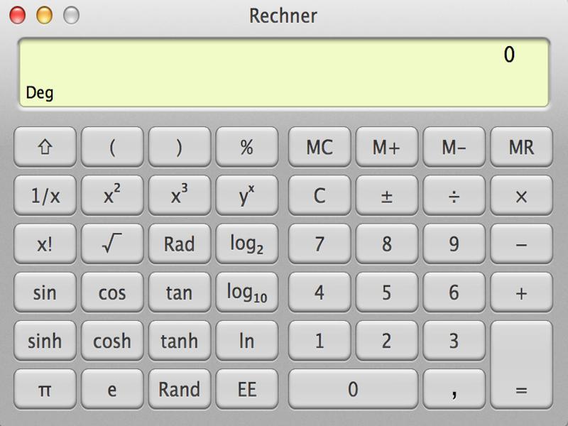 Mehr funktionen taschenrechner iphone