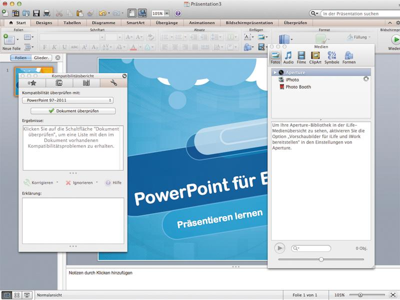 Software-Duell: Keynote 6 vs  PowerPoint 2011   Mac Life