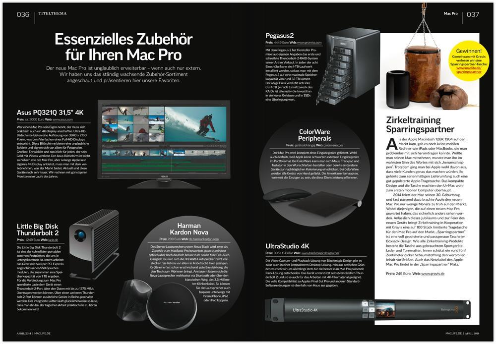 mac life 05 2014 mac doktor mac pro carplay und vieles mehr mac life. Black Bedroom Furniture Sets. Home Design Ideas