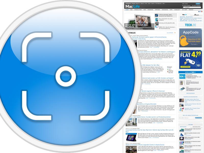 Komplettes Bildschirmfoto Einer Webseite Erstellen Mac Life