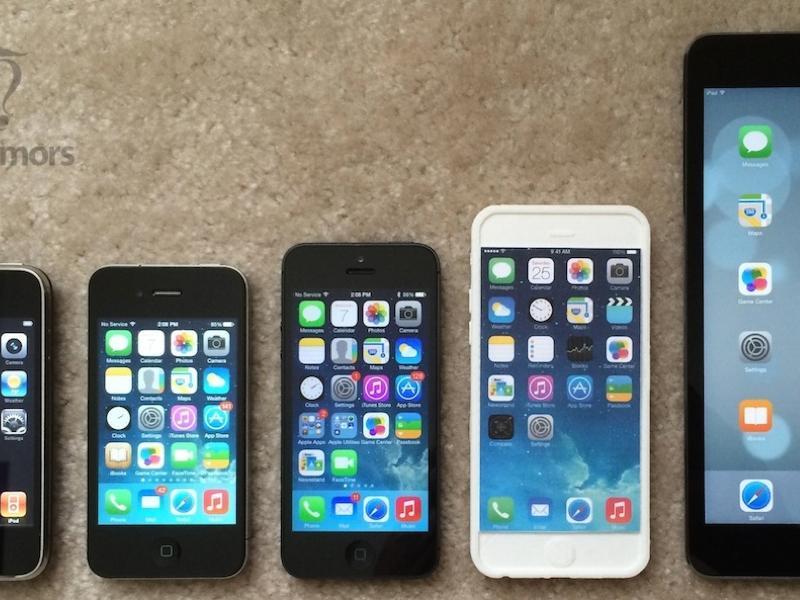 vergleich iphone 5 und 6 technische daten