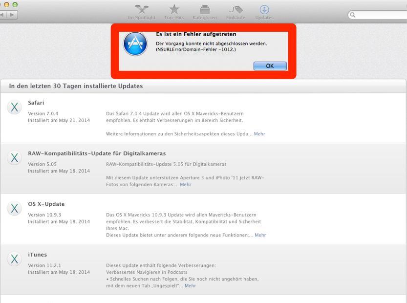 Abgelaufenes SSL-Zertifikat: Kurze Zwangspause für Updates im Mac ...