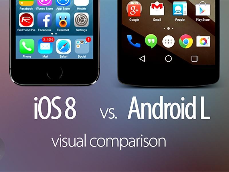 Android L und iOS 8 im großen Screenshot-Vergleich   Mac Life