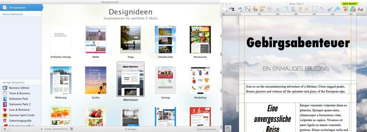 Newsletter Designer | Newsletter Am Mac Erstellen Mail Designer 2 Nur Noch Kurz Zum