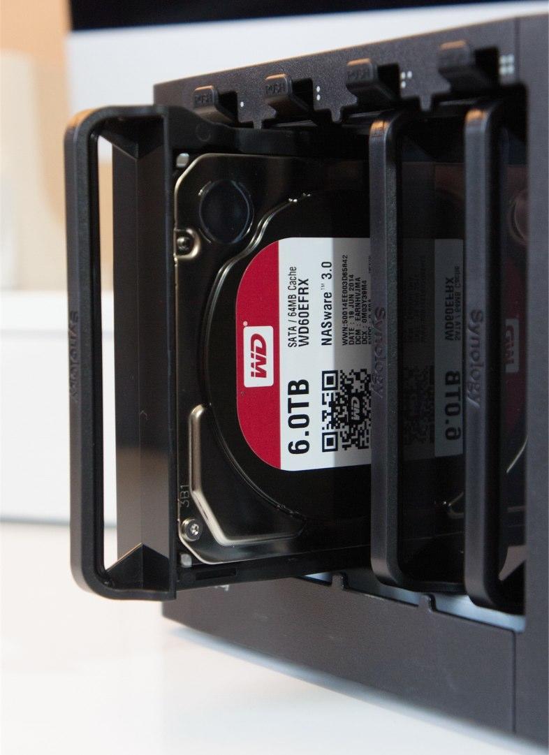 Diskstation Finden